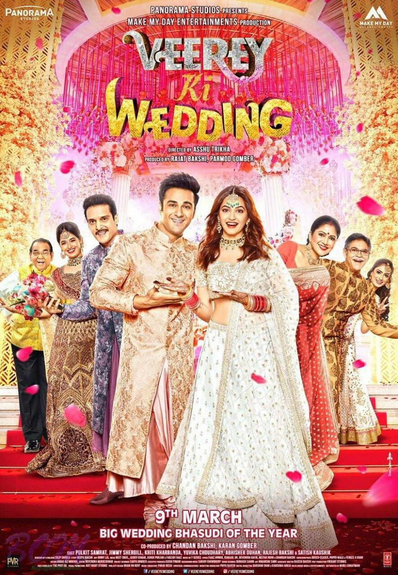 Veerey Ki wedding movie poster - Pics Bollywood Actor Movie