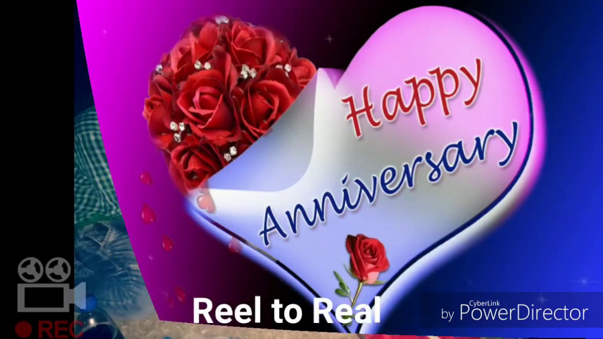 Very 👌lovely Nice Romantic💋 Happy Anniversary 💏To You ...