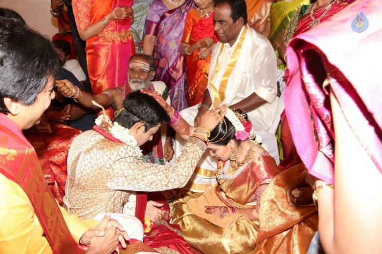 Vishal Sister Aishwarya Wedding Photos - Photo 7 of 8