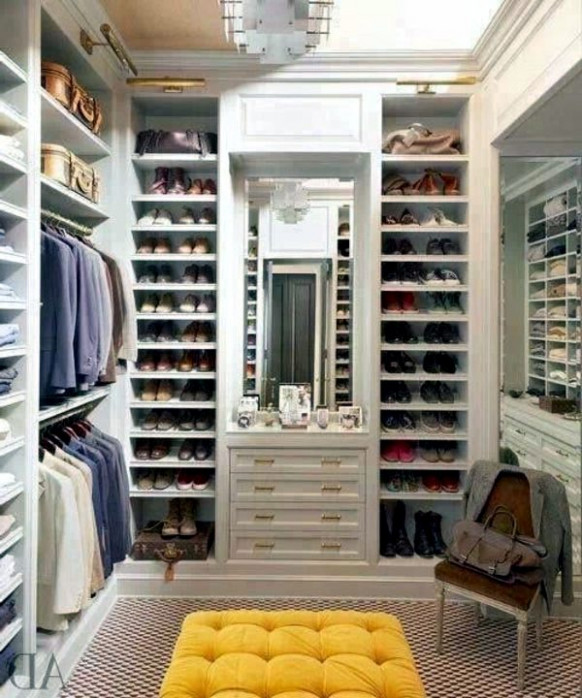 Walk-in closet plan – 50 Dressing chic furnishings ...