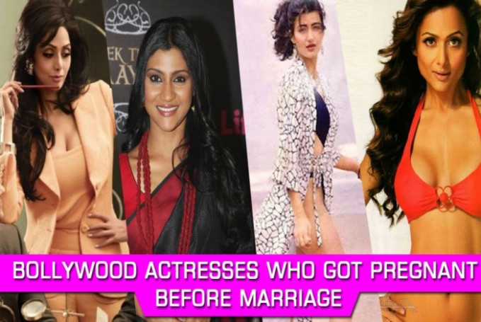 Watch ! Bollywood Celebrities Who Got Pregnant Before Marriage