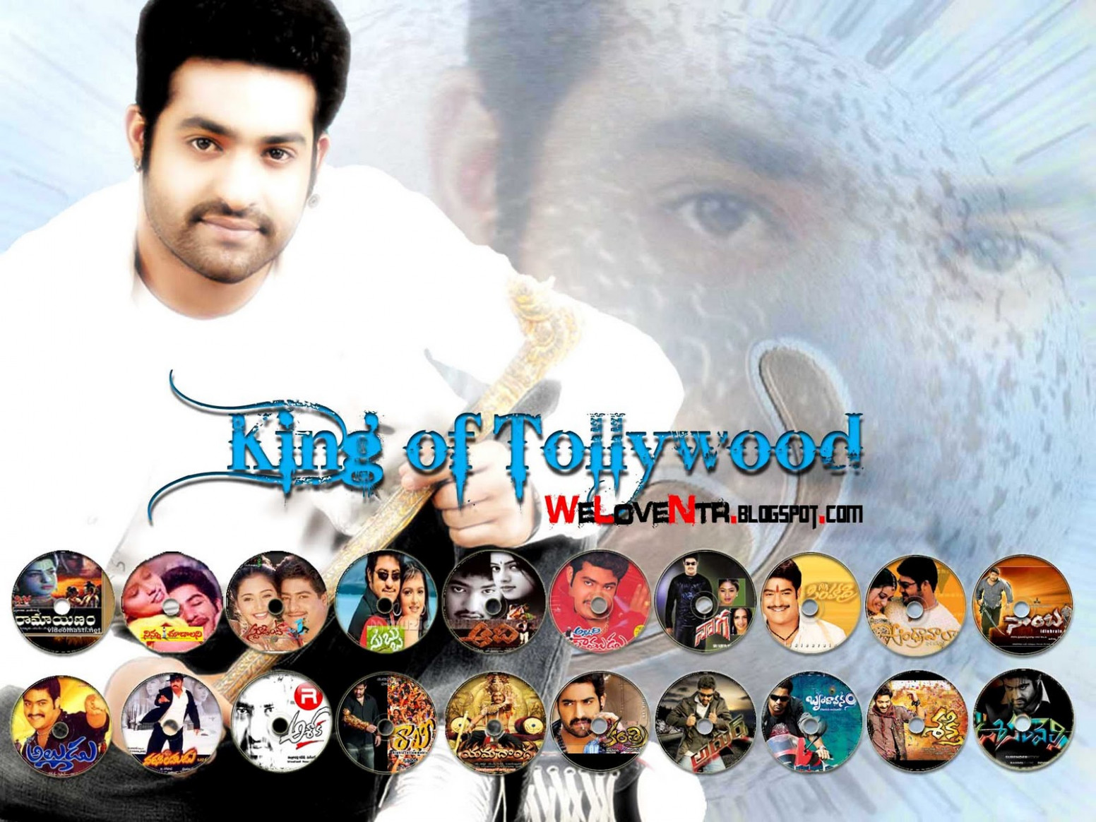 WE LOVE NTR: KING of Tollywood...(jr ntr wallpapers).