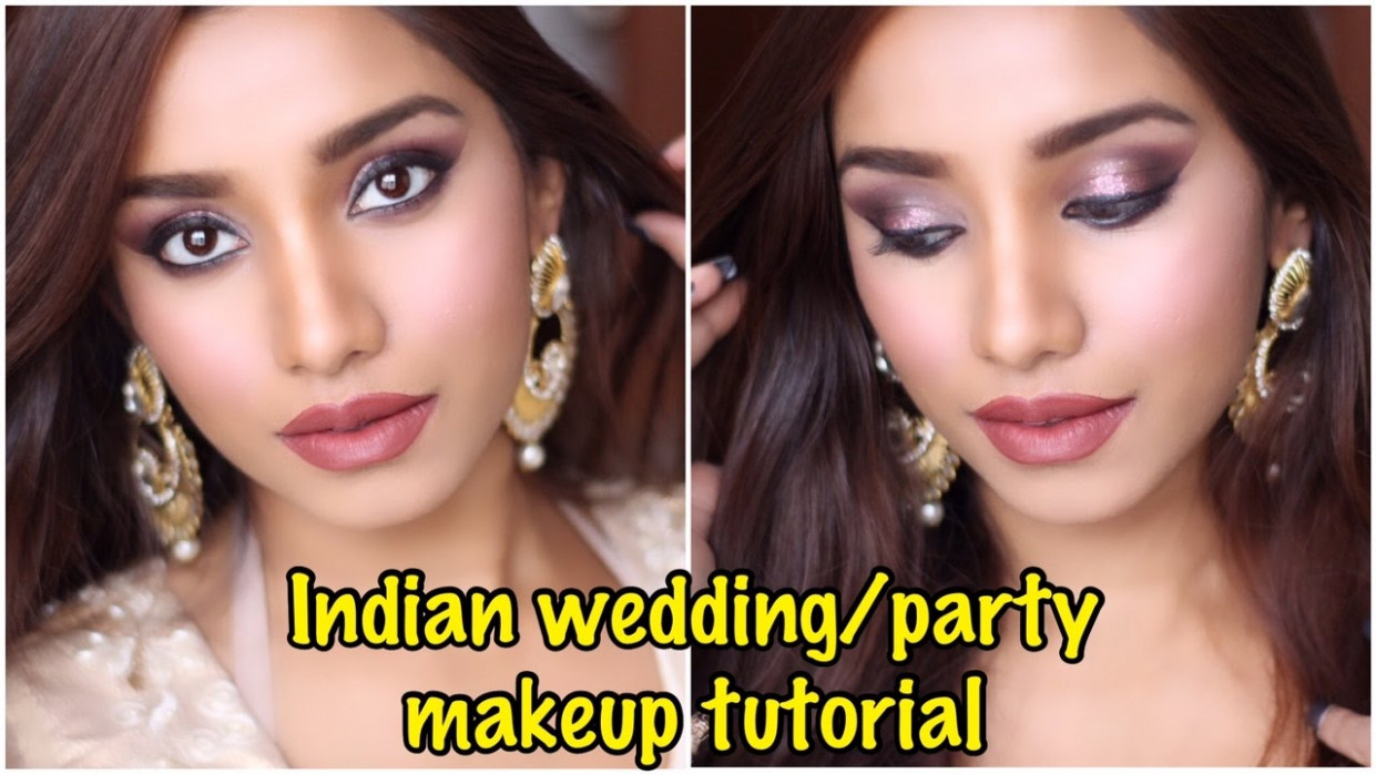 Wearable bollywood inspired Indian party makeup tutorial ...