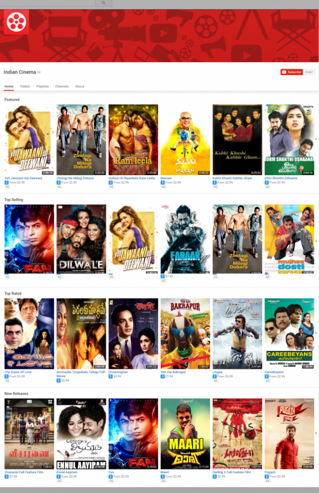 Websites to Watch Bollywood Movies Online (Legally)