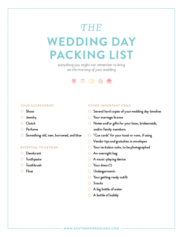 Wedding Day Packing List-01