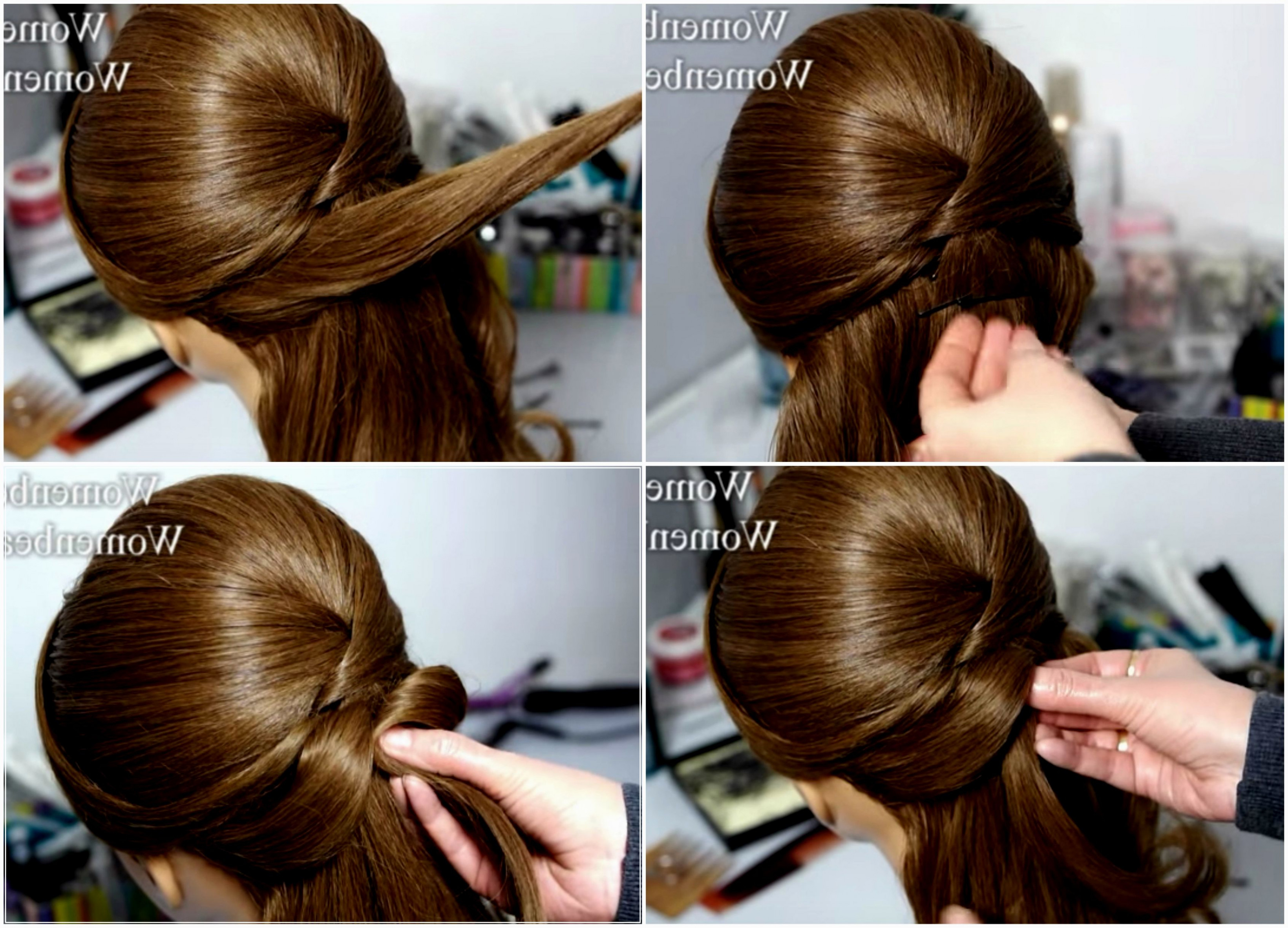 Wedding Hairstyles Step By Step Bridal Hairstyle Stepstep ...