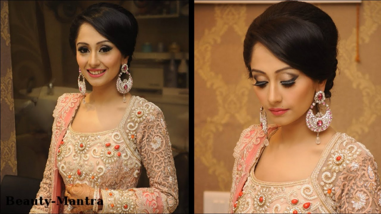 Wedding Makeup Ideas - Simple Classy Reception Look - YouTube