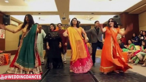 Wedding Performance On Bollywood Song (Lungi Dance ...