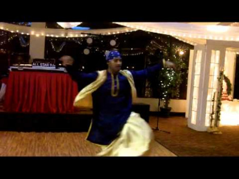 WEDDING RECEPTION BHANGRA AND BOLLYWOOD STYLE / JAI HO ...