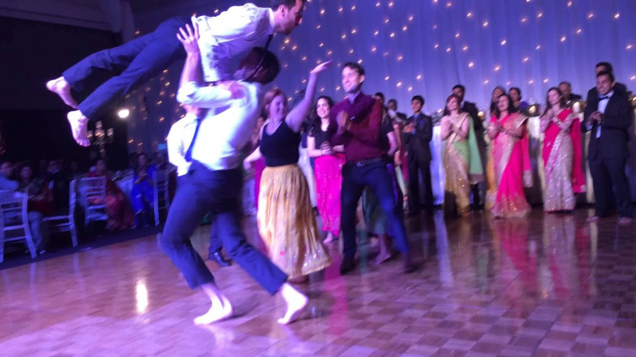 Wedding Reception Bollywood Dance! - YouTube