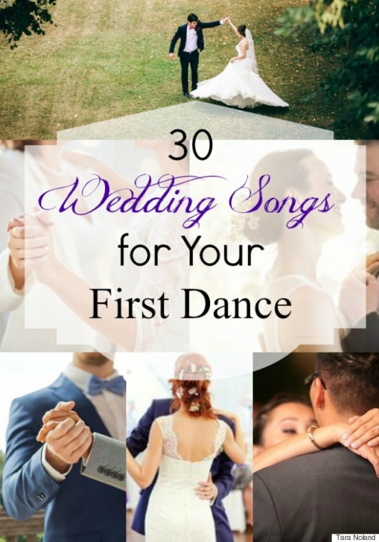 Wedding Songs: 30 Awesome First Dance Tracks For The Bride ...