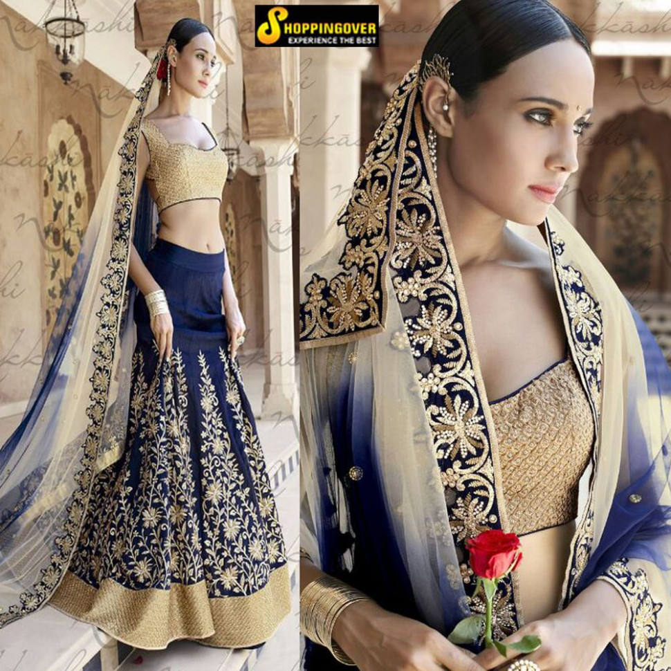 Wedding wear bollywood Indian designer bridal heavy ...