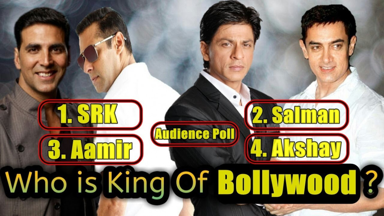 Who Is The King Of Bollywood? Audience Poll - YouTube