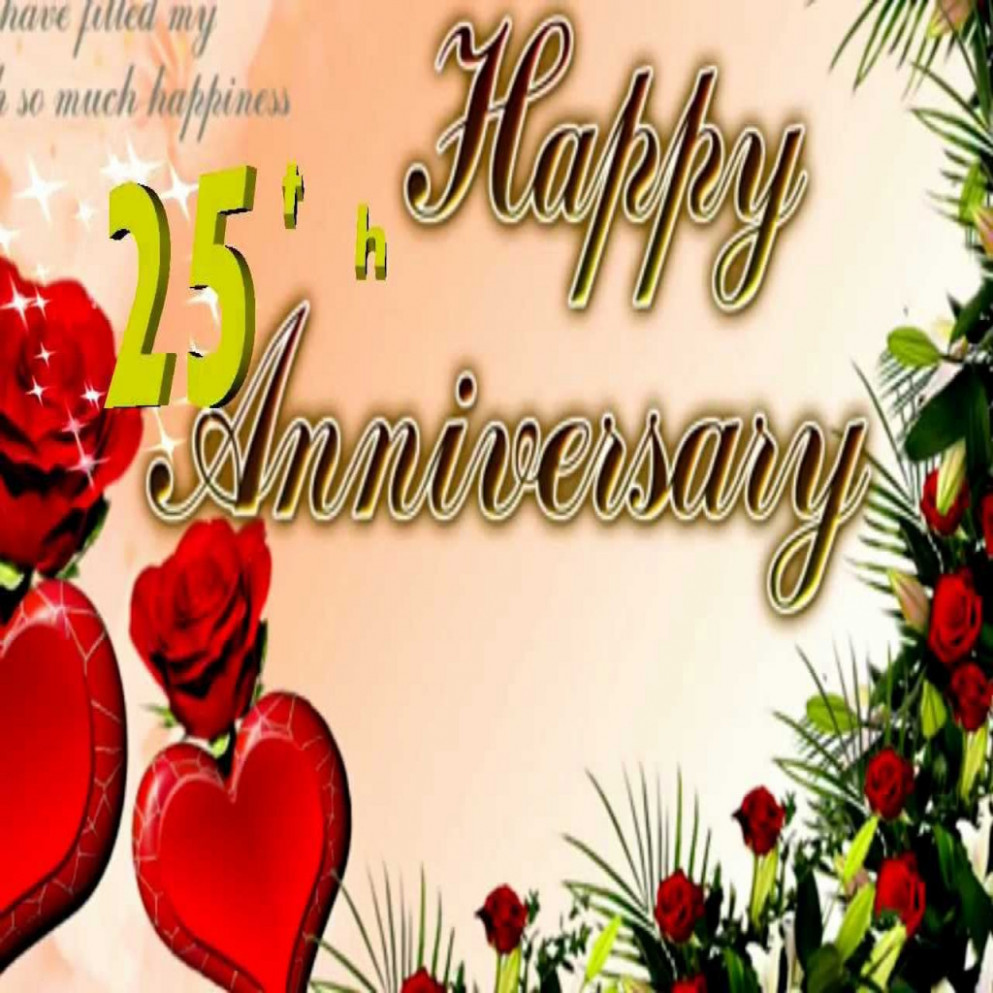 Wishes On 25th Wedding Anniversary In Hindi - Unique ...