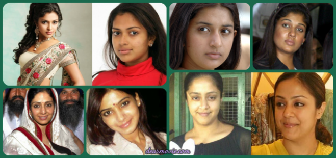 Without Makeup Tollywood Actress | Photos- dearmovie.com