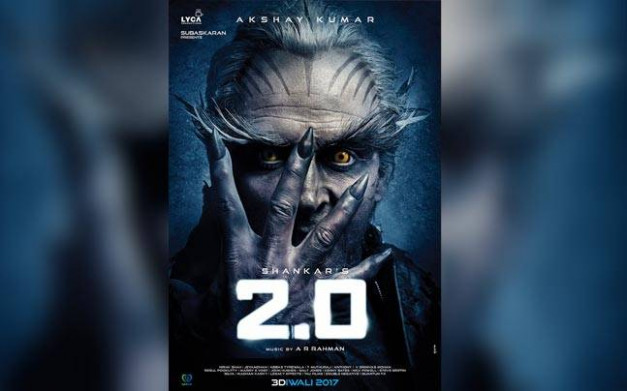 2.0 first look out: Akshay Kumar's look from Rajinikanth's ...