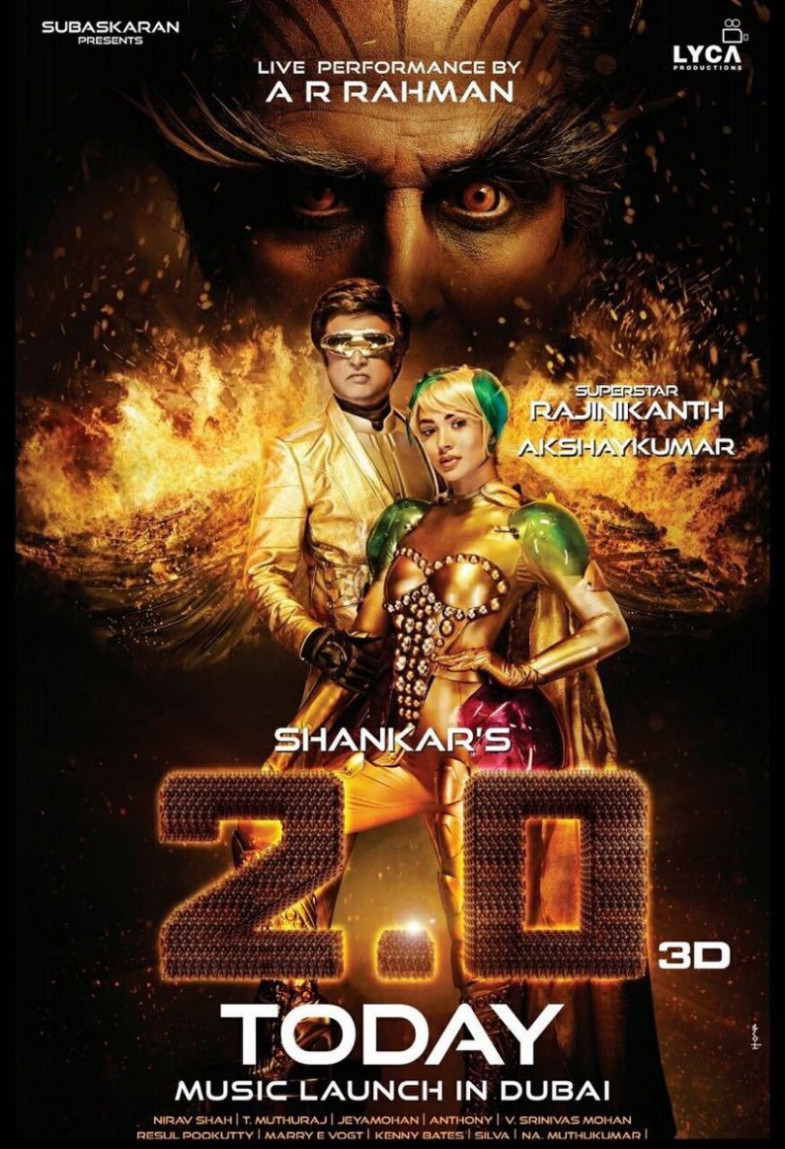 2.0 new poster released: Akshay Kumar's evil villain looks ...