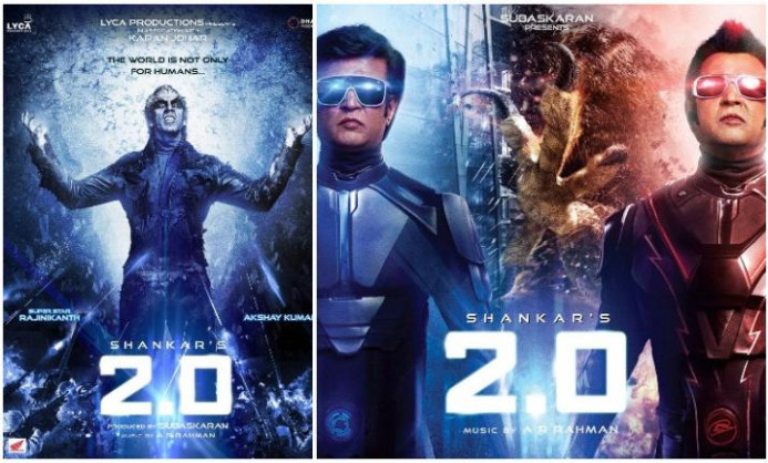 2.0 New Posters Alert! Presenting Rajinikanth as Chitty ...