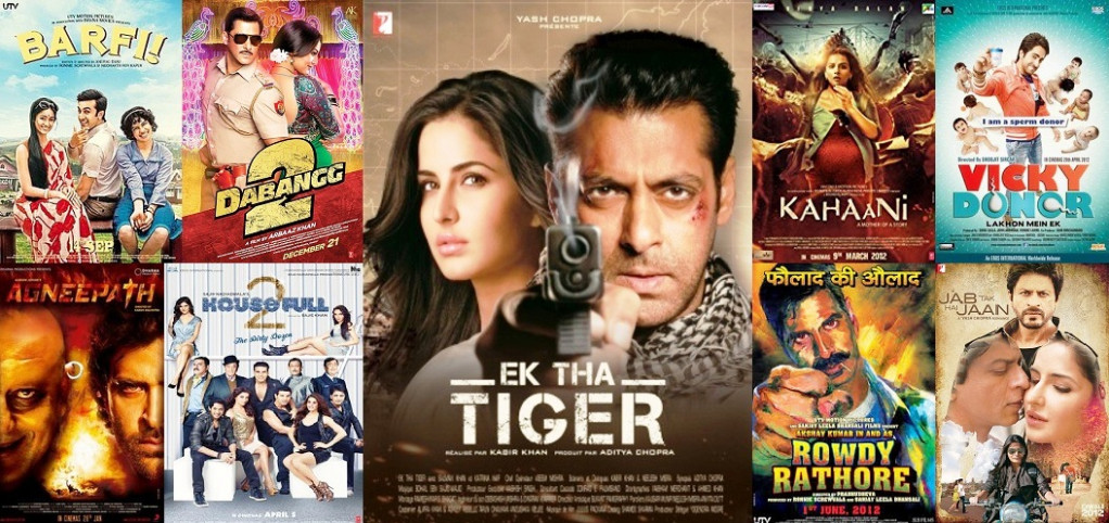 2012 Bollywood Movies List - Cinemaz World