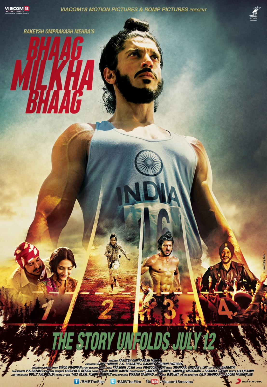 2013 Bollywood Movies - Bhaag Milkha Bhaag - Cinemaz World