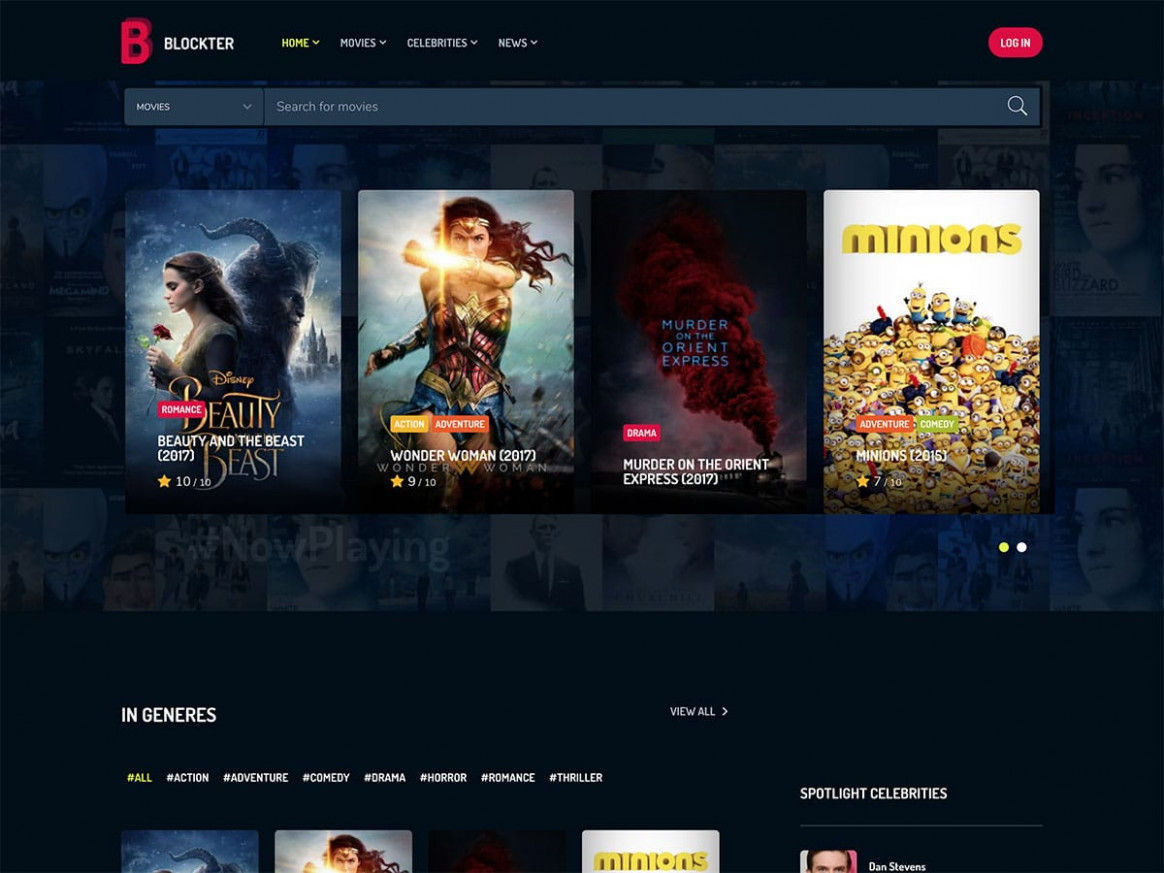 5 Best WordPress Movie Themes 2018