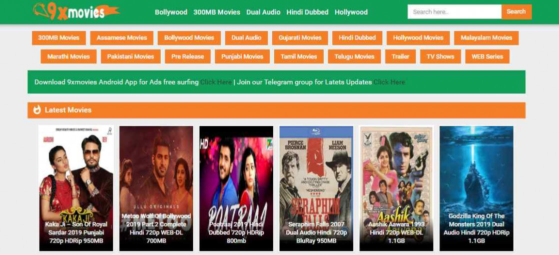 9xmovies 2019 - New Movies 2019 Bollywood Hindi, 300MB Movies