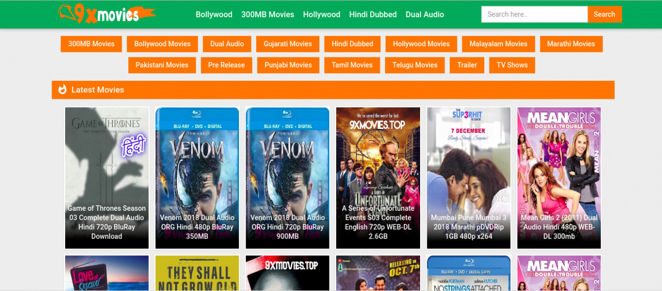 9xmovies – 9X Better Quality Experience of Watching Movies ...
