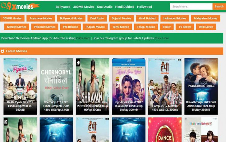 9xMovies – Latest Tamil, Telugu, Malayalam, Hindi Dubbed ...