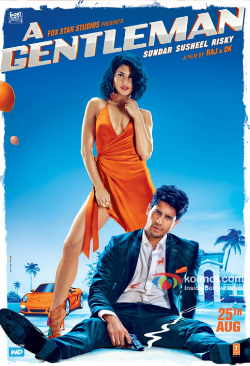 A Gentleman (2017) Hindi Movie Review, Rating - Siddharth ...