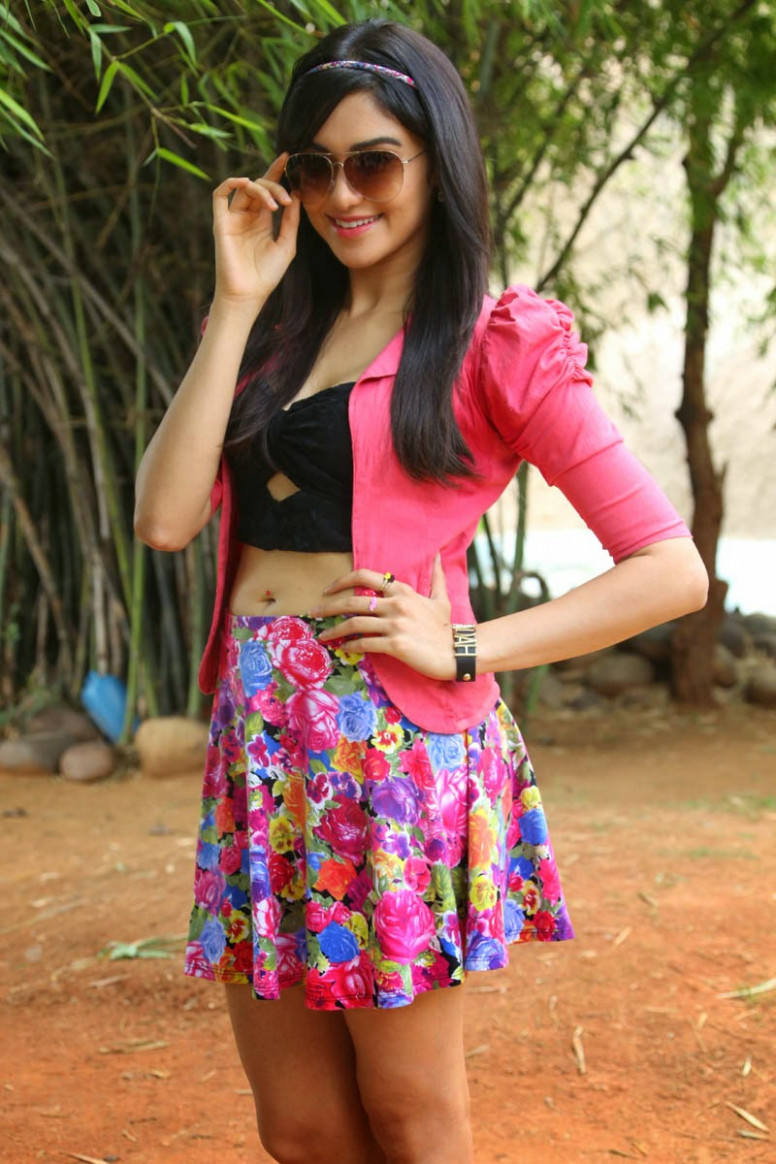 Adah Sharma Beautiful Photos in Skirt at Garam Movie ...