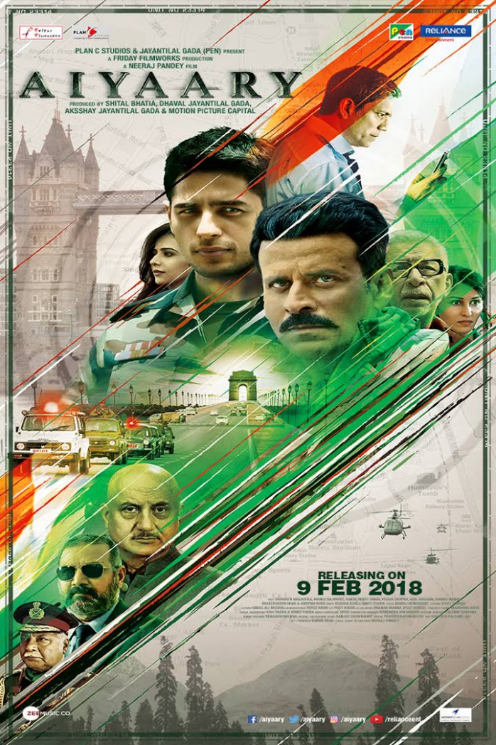 AIYAARY (HINDI) 2018 FULL MOVIE DOWNLOAD 720P|Filmywap ...