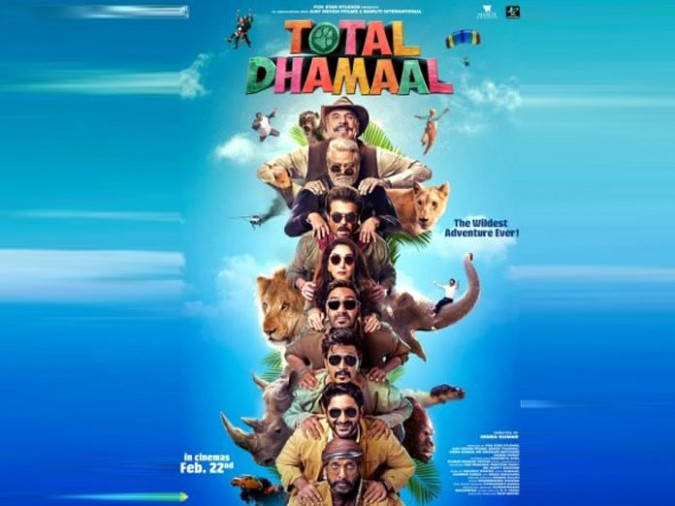 Ajay Devgn Unveils A New Poster Of Total Dhamaal