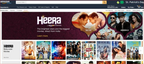 Amazon Heera - Bollywood Prime Video Channel • ThePicky