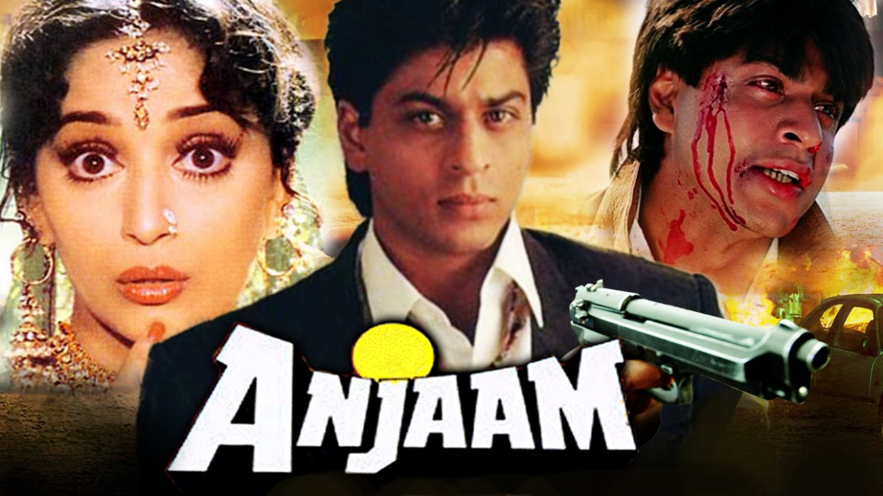Anjaam 1994 Hindi Movie HDRip 800MB | | BDmusic365.Net