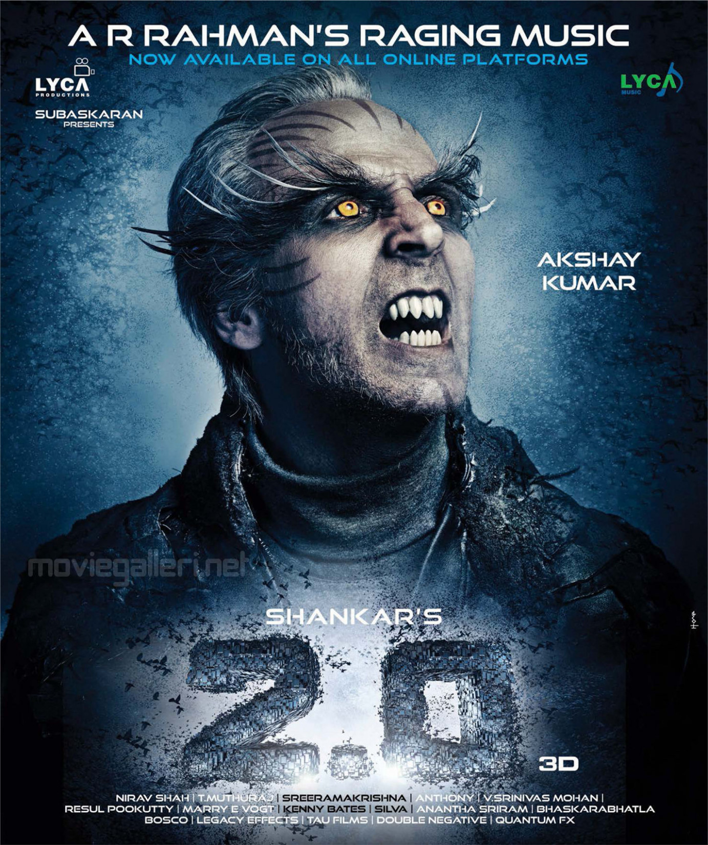 AR Rahman's 2.0 Songs Released Posters | New Movie Posters