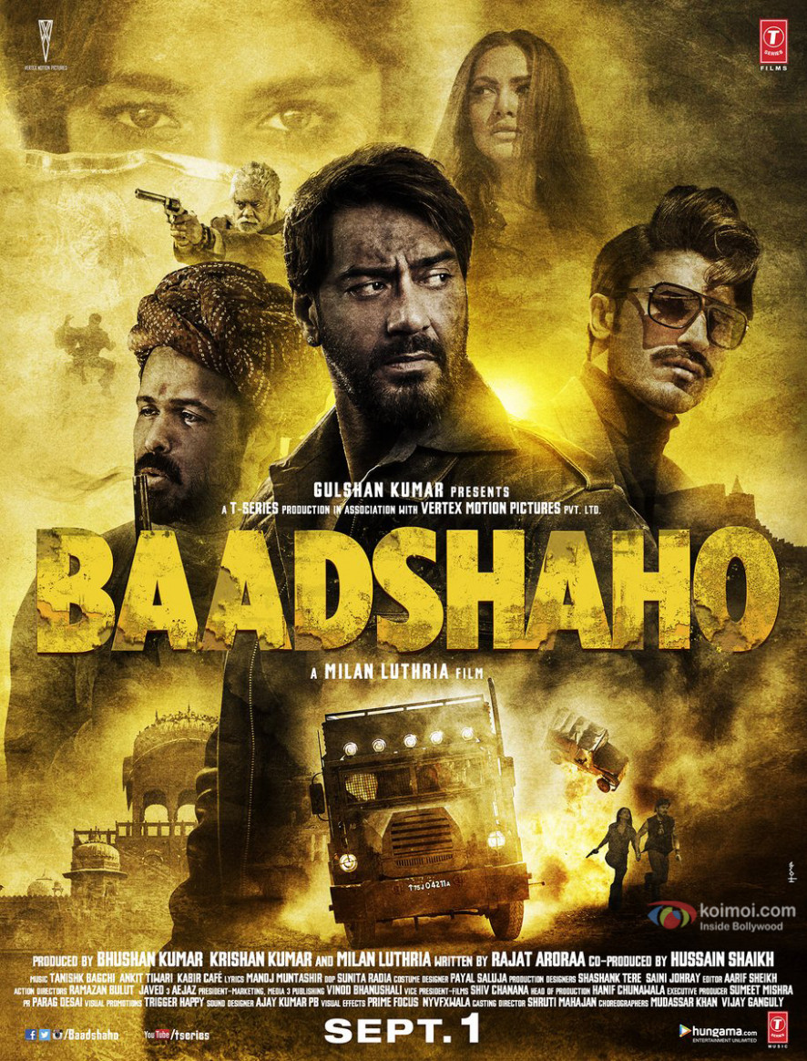 Baadshaho Bollywood Movie Official Teaser 2017 | New Movie ...