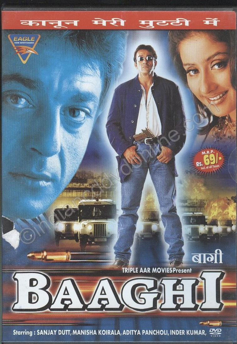 Baaghi 2000 Hindi Movie 500MB HDRip ESub Download