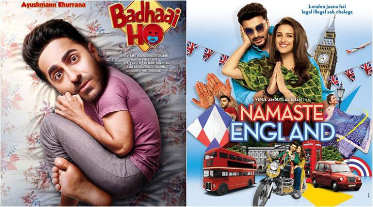Badhaai Ho and Namaste England movie release and review ...