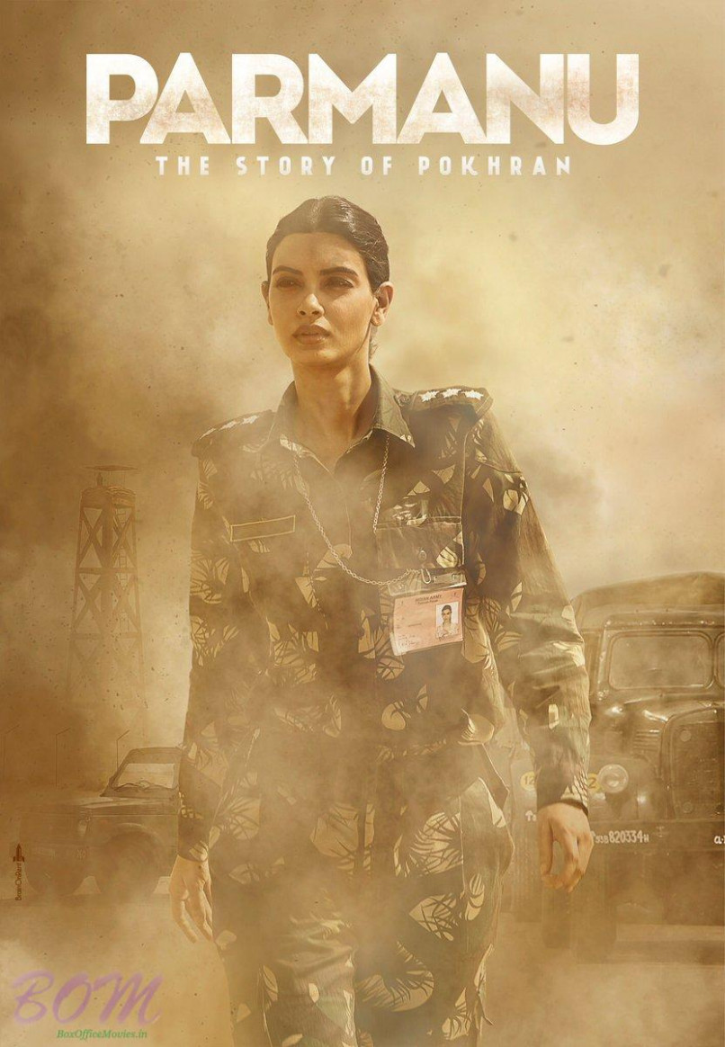 Beautiful Diana Penty as army officer in PARMANU movie ...