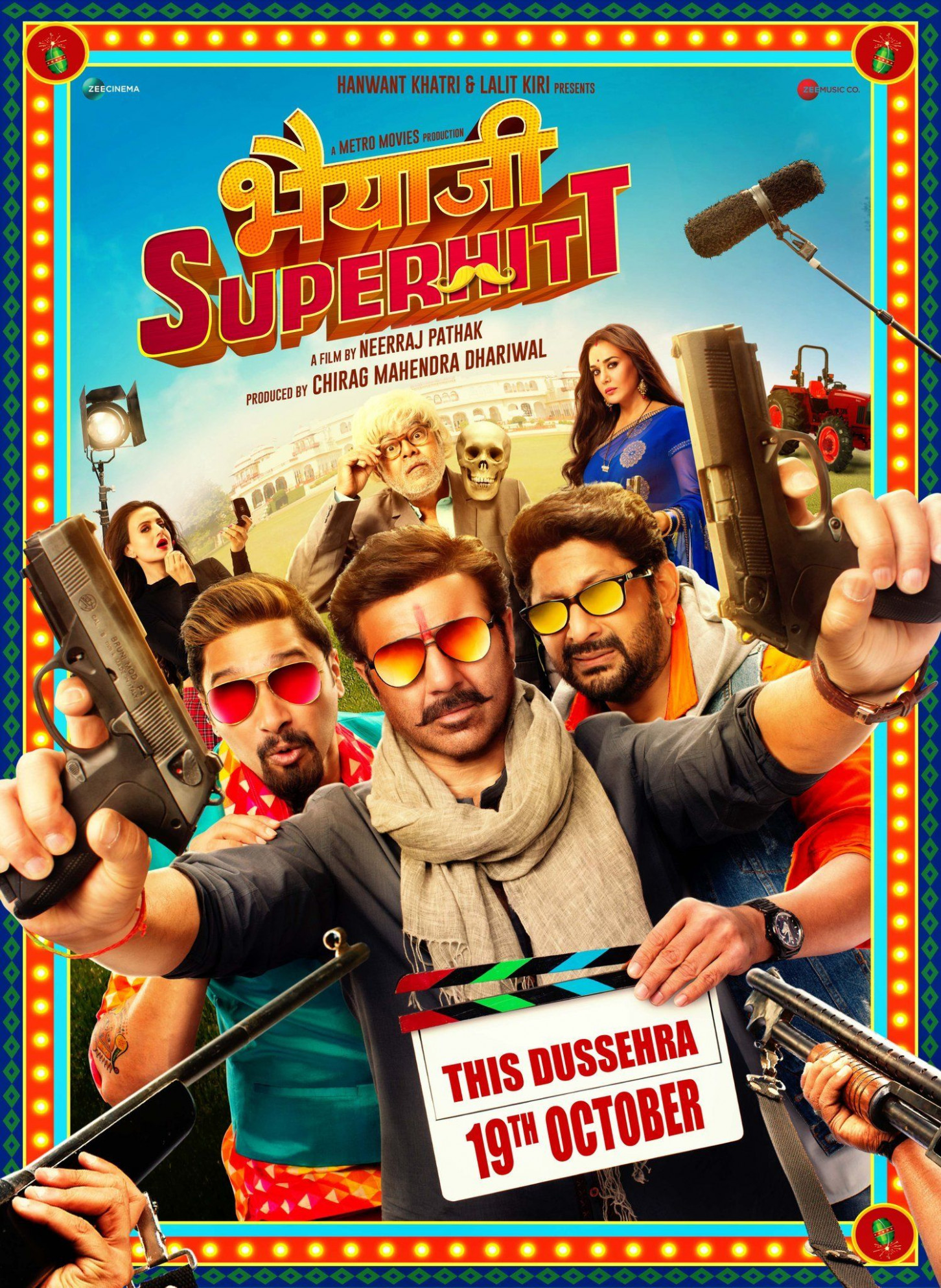 Bhaiaji Superhit Review: Goofy zany outrageous fun (Rating ...