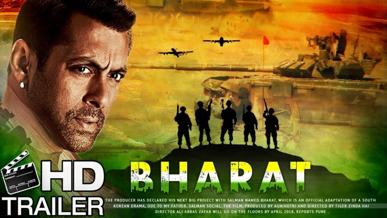 Bharat Movie Trailer Teaser | Salman Khan | EID 2019 | Ali ...