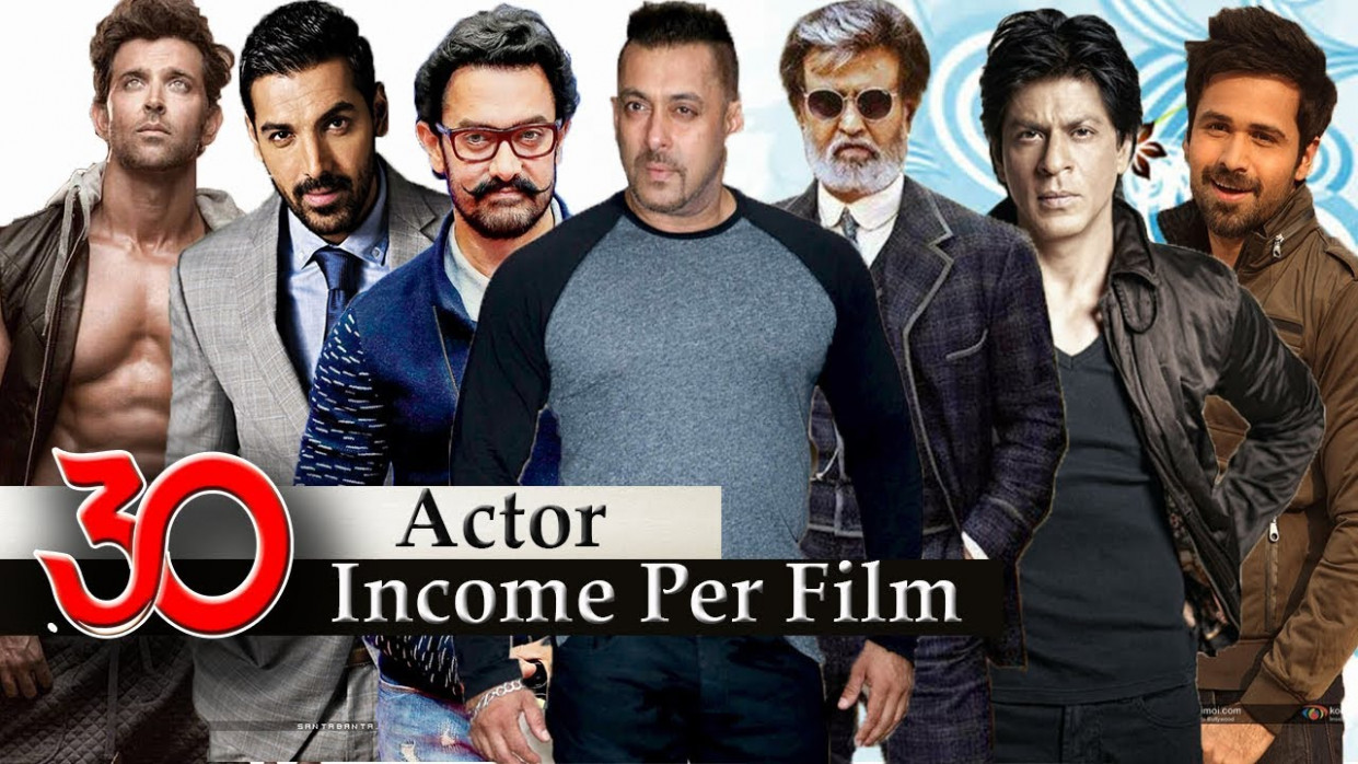 Bollywood Actors Salary - 30 Popular Highest Paid ...