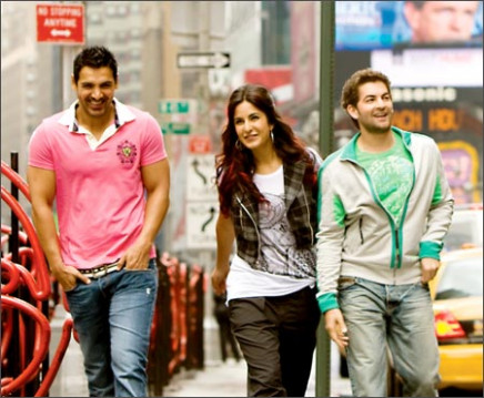Bollywood goes to New York - Rediff.com Movies