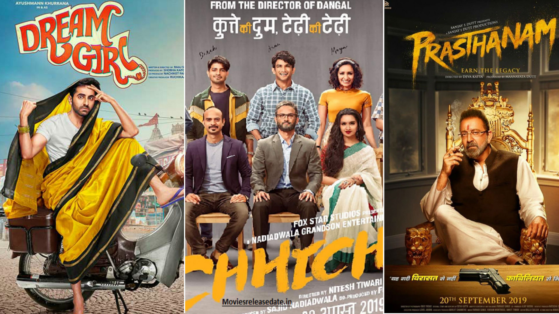 Bollywood Movies Release In September 2019 Chhichhore ...