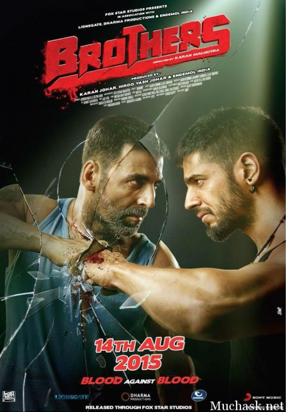 Brothers Bollywood Hindi Movie 2015 Brand New Poster Look ...