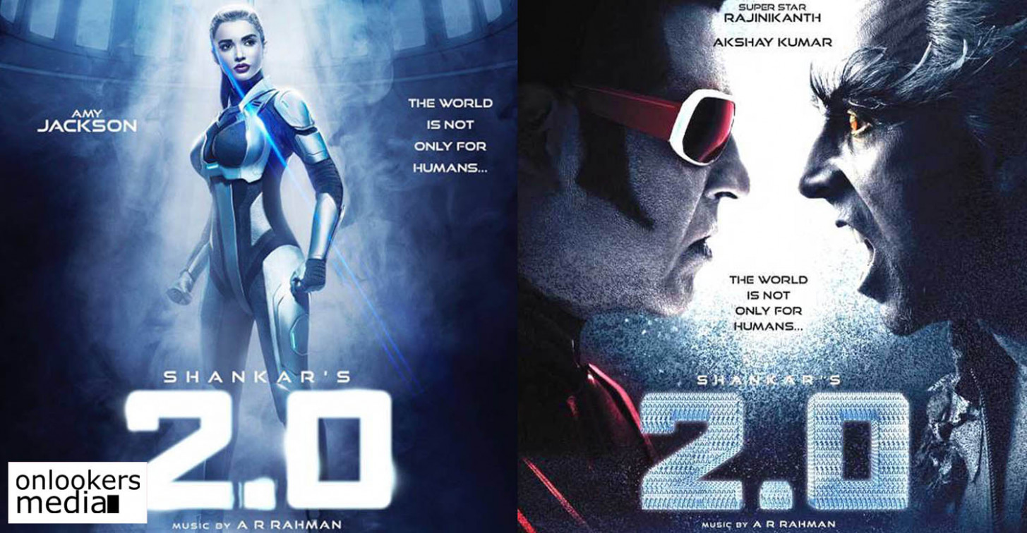 Check out Amy Jackson's look as a robot in 2.0