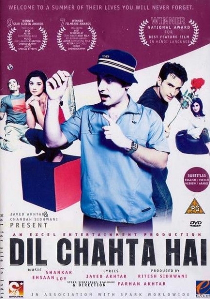 Dil Chahta Hai (2001) | Bollywood posters | New hindi ...
