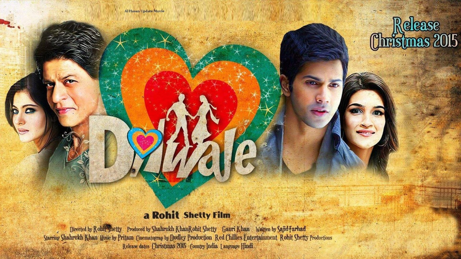Dilwale Full HD Hindi Movies 2015 Download Online ~ NEW ...