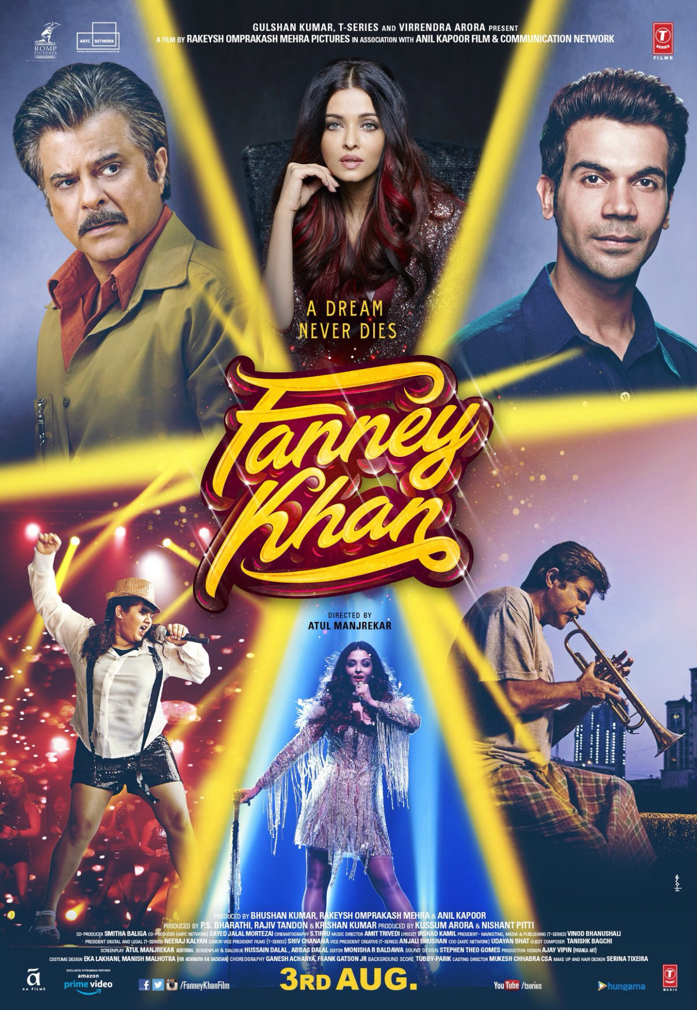 Download Fanney Khan (2018) Movie HD Official Poster 2 ...