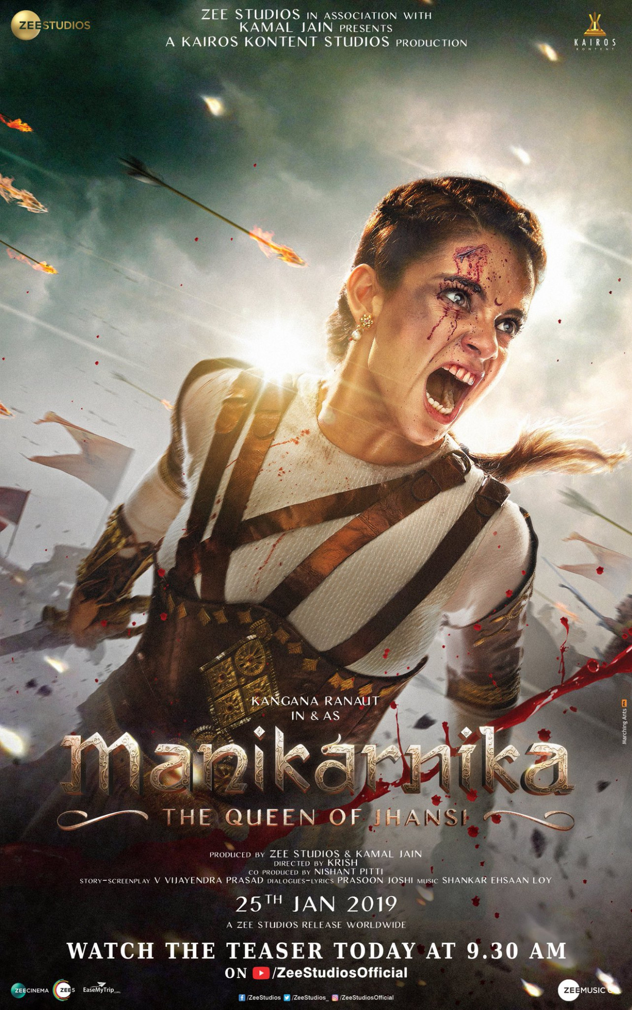 Download Manikarnika: The Queen Of Jhansi (2019) Movie HD ...